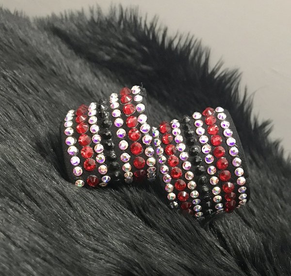 Black Wide Cuffs (Customisable)