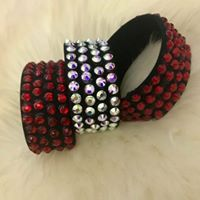 Black Regular Cuffs (Customisable)